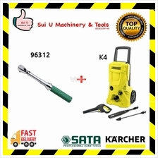 SATA 96312 DR Mechanical Torque Wrench 40-200Nm 1/2' with KARCHER K4