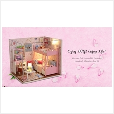 DIY Wooden House Kit - Cuteroom H - 012 - A DIY Wooden House Furniture..