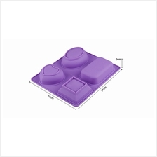 Baking Molds - Silicone Handmade Soap Mold High Temperature Resistant