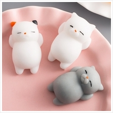 Squishy Toys - Cat Toy - Cute Cat Style Squishy Toy For Pressure Reduc..