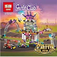 FRIENDS HEARTLAKE THE BIG RACE DAY 41352 LEGO COMPATIBLE BRICK