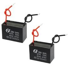 Ceiling Fan CBB61 8uF 50Hz AC450V Motor Run Capacitor (2pcs)