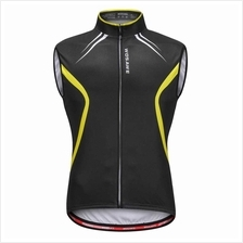 Wosawe Sleeveless Cycling Vest Jersey Breathable MTB Bike Riding Top Sports Ja