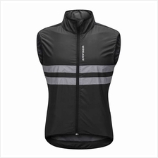 Wosawe Sleeveless Cycling Jersey Windproof Breathable MTB Bike Riding Top Spor