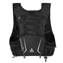 5L Multi Pocket Outdoor Reflective Running Vest Backpack Insulted Hydration Ve