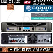 Crown XTi 1002 2-channel Power Amplifier, 1000W @ 8? *Low Prices*