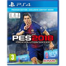 PS4 PRO EVOLUTION SOCCER PREMIUM EDITION PES 2018 R2 CD