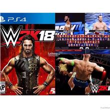 PS4 WWE 2K18 R3 CD (ENG)
