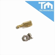 M3 Male to Female Brass Screw Thread PCB Stand-off Spacer (Screw &amp