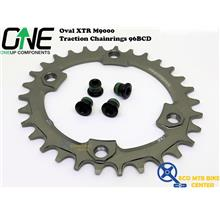 ONEUP COMPONENTS Oval XTR M9000 Traction Chainrings 96BCD