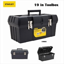 STANLEY 19' TOOL BOX 19-005 WITH METAL LATCHES