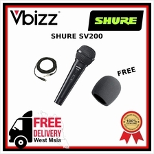 Shure SV200 *FREE DELIVERY* Microphone & FREE Windscreen