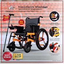 Fresco Electric Wheelchair Sport Rim / Kerusi Roda Elektrik