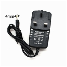 Power Adapter DC 12V 2A 1500mA 1A 1000mA 4mm x 1.7mm 3pin Wall