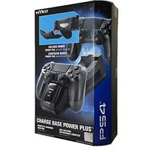 Nyko Charge Base Power Plus Battery Pack for PS4 Controller Charging Charger
