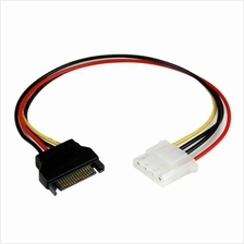 4Pin Female to SATA Male Power Cable Extension (S071)