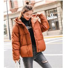 Women Light Weight Down Feather Hooded Jacket