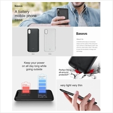 iPhone X XR BASEUS 4000mAh External Battery Power Bank Case
