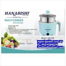 Hanabishi Mini Multi Cooker With Steamer