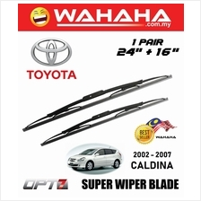 "TOYOTA CALDINA 2002 - 2007 OPT7 Car Super Wiper Blade 24""+16"""