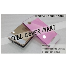 sale retailer 23675 77f0f Lenovo A889 A880 A850 A850 Plus Metal Bumper With Back Case Cover