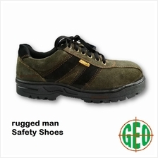 Sobar VRM900G Rugged Man Safety Shoes with Steel Toe and Steel Midsole