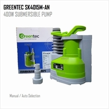 GREENTEC SK4015M-AN (AUTO/MANUAL) 400W SUBMERSIBLE PUMP