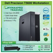 Dell Precision T5600 2 x Intel Xeon E5-2650 8GB RAM 1TB HDD Win 7 Pro