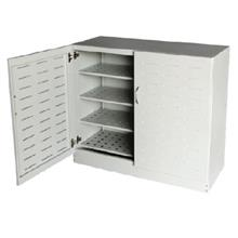Steel Shoes Cabinet with Swing Doors | Steel Furniture S168