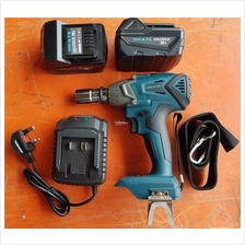 brushless cordless compact impact wrench hammer torque electric motor