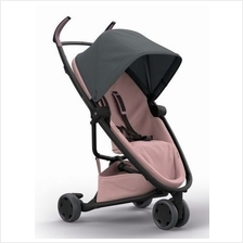 Quinny Zapp Flex Stroller | Graphite on Blush - 30% OFF!! + FREE!!)