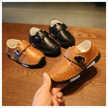 Kids Shoes Boys Flats Children's Male Casual Leather Soft Bottom Foot