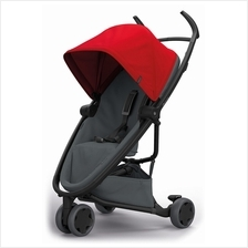 Quinny Zapp Flex Stroller | Red on Graphite - 30% OFF!! + FREE!! Maxi)