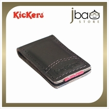 Kickers KIC88502-BR Leather Magnet Money Clip