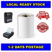 57*40mm Thermal Paper Roll Kertas Suitable for Bluetooth Printer & Cas