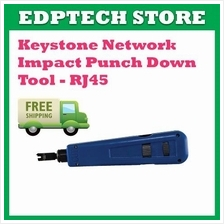 Keystone Network Impact Punch Down Tool - RJ45