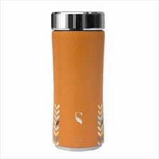 SWANZ 360ml 3D Orange Petal Crown Collection (With Strainer) - SY-025OP)