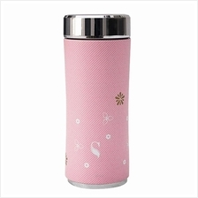 SWANZ 360ml 3D Cherry Blossom Crown Collection (With Strainer) - SY-025CC)