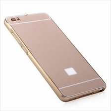ANTI-SCRATCH PC BACK COVER CASE WITH ALUMINUM METAL BUMPER FRAME FOR XIAOMI NO