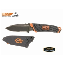 Gerber 31-001066 Bear Grylls Compact Fixed Blade with Sheath
