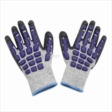 Safety Gloves - Impact, Vibration and Cut Resistant Protection