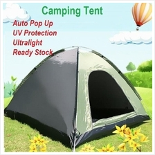 Outdoor Travel Camping Tent 3 To 4 Person Automatic Pop Up Tent Large