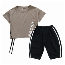 Kids Clothing Boys Set Cotton Short Sleeve Summer Pants Children's Mal
