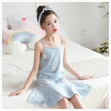 Kids Clothing Girls Sleepwear Cotton Children's Night Wear Cartoon Pri