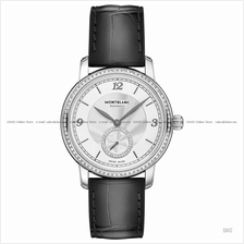 MONTBLANC 118508 Women's Star Legacy Small-Second Diamonds Leather