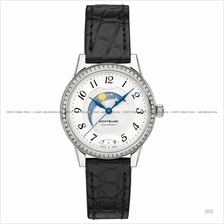MONTBLANC 114732 Women's Boheme Automatic Day & Night Diamonds Leather