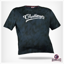 CHALLENGER BIG SIZE Ezdry RN SS Tee CH1027 (Dk Grey)