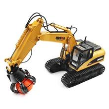 HUINA RC Alloy Ball Grabber Engineering Truck RTR 680-degree