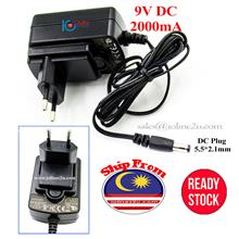 230V AC to 9V DC 2A 18W Switching Power adapter PSU 5.5mm*2.1mm DC Plug ADS-18