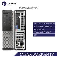 Dell Optiplex 390 DT i3 4GB RAM 320GB HDD Desktop PC Computer